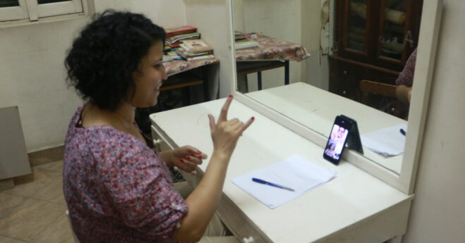 Awareness videos via Whats App